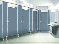 不锈钢卫生间隔断4